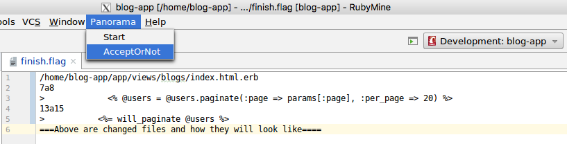 How to run Panorama on docker image
